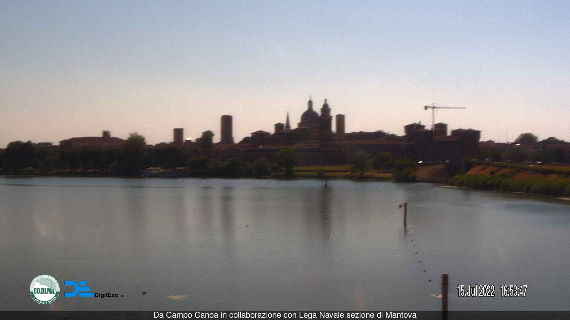 Webcam Mantova MN&nbsp;Live webcamera