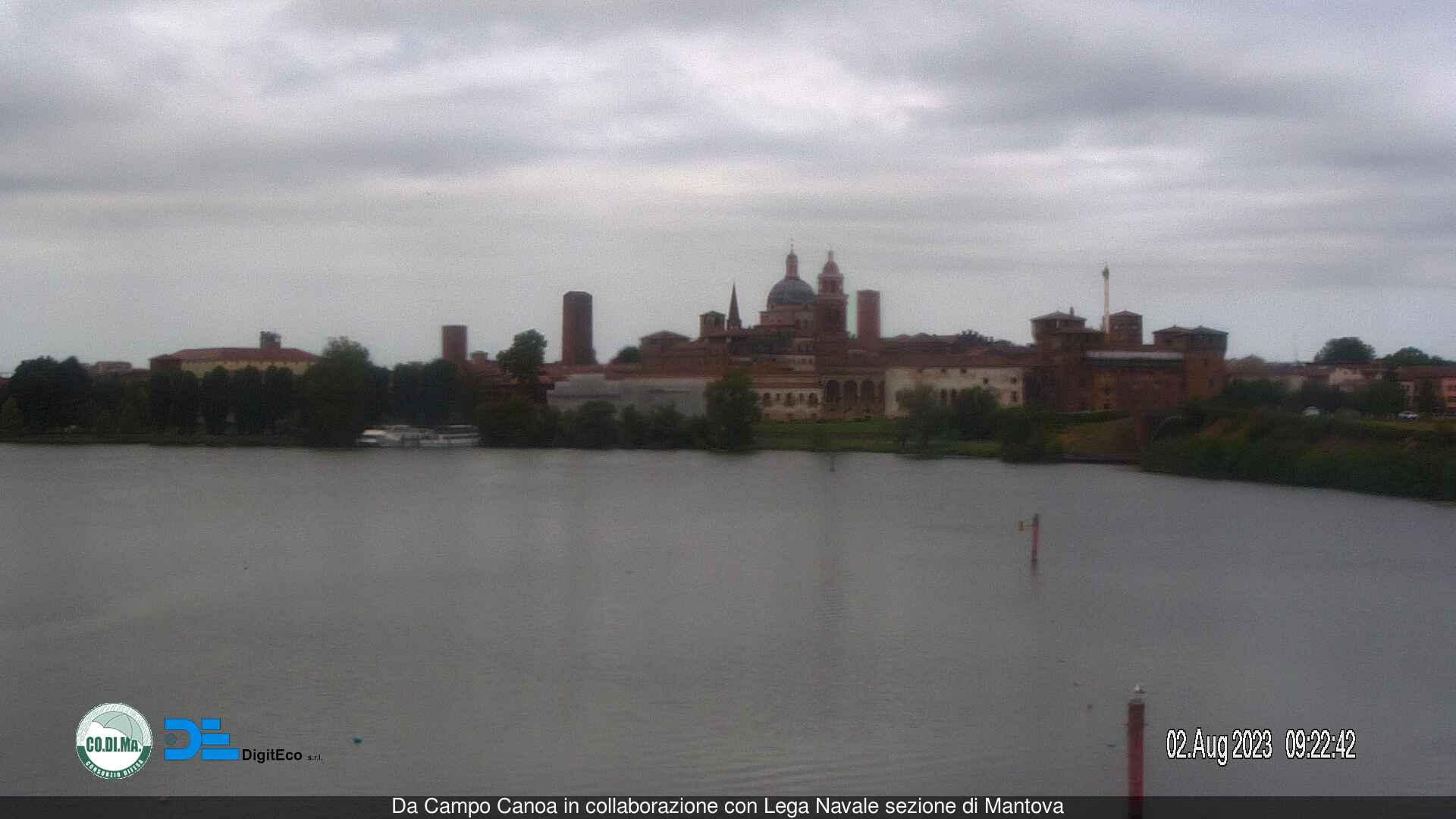 Webcam in diretta da Mantova